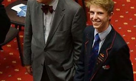 Samuel Penno and the NZ Debating Championships
