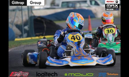 Ryan Wood competes in the Rotax World Finals in Portugal