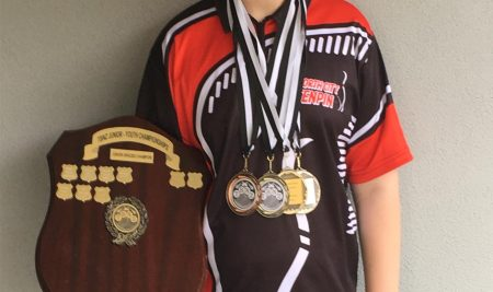 William Pettit National Champion in Ten Pin Bowling