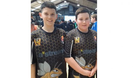 Jack Gaskin & Oscar Reid selected in the NZ Under 13 Indoor Cricket team to play in the World Cup