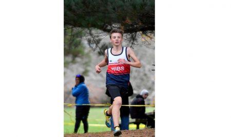 Jonah Seeds Regional Junior Cross Country champion