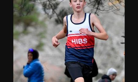 Jonah Seeds Regional Junior Cross Country champion