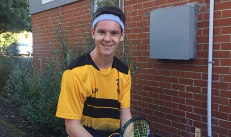 Kobe Fleming takes out the South Island U17 Squash Title