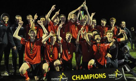 Congratulations to the 1st XI Football team winning the Prem. 1 CSW Competition
