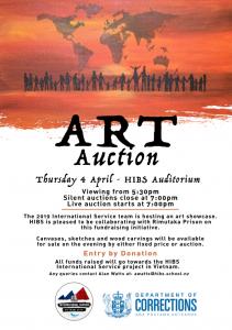 International Service Art Auction Fundraiser