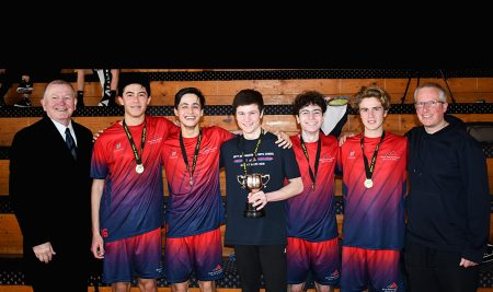 Congratulations to the Senior A Badminton team winning the Premier grade