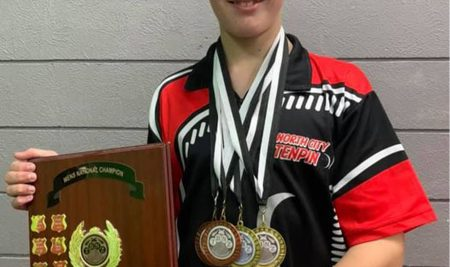Ben Pettit youngest person in NZ to win the NZ Open Men's Tenpin Bowling