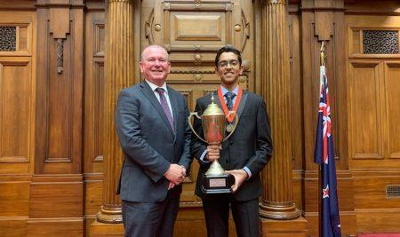Top Scholar in the New Zealand
